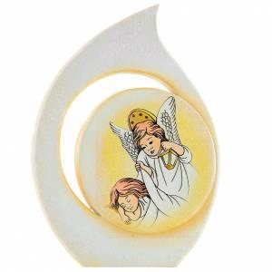 Bomboniere e ricordini: Bomboniera Battesimo goccia Angeli 11 cm