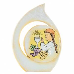 Bomboniere e ricordini: Quadretto goccia Bimba 8 cm