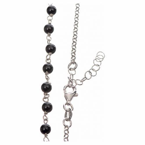 Ras du cou MATER perles chaîne argent 925 s3