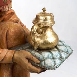 Statue per presepi: Re Magio mulatto 125 cm Fontanini