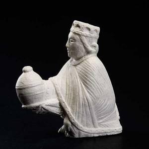 Re magio persiano Presepe d'Autunno pietra bianca s2