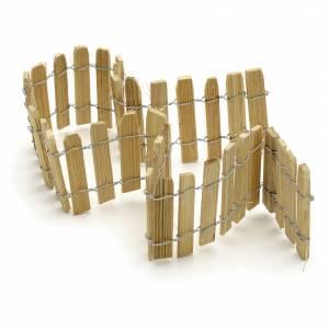 Recinto legno presepe lung. 40 cm s2