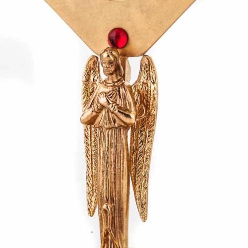 Reliquiario dorato con angelo s5