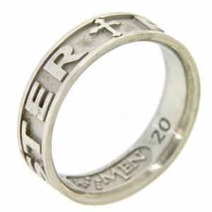 Gebetsringe: Ring AMEN Silber 925 Pater Noster