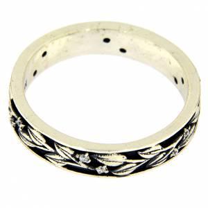Gebetsringe: Ring AMEN Silber 925 Zirkonen