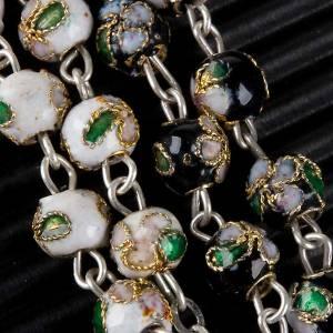 Rosari cloisonnè: Rosario cloisonnè tondo 6 mm