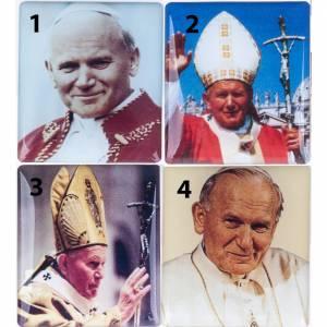 Rosario Elettronico blu Giovanni Paolo II Coroncina s2