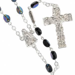 Rosario Ghirelli Madonna di Lourdes nero 7 mm s1