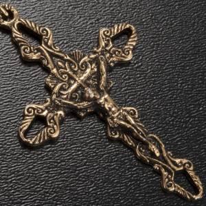 Rosario Ghirelli Padre Pio ambra 6x8 mm s4