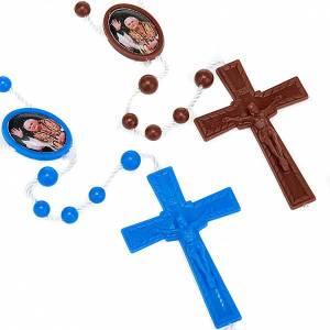 Rosari economici: Rosario nylon immagine personalizzata 5 mm