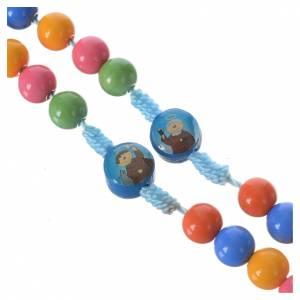 Rosario resina multicolore 8 mm s3