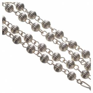 Rosary beads in silver, Pope Francis s3
