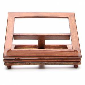 Book stands: Rotating wooden book-stand