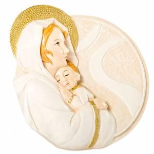 Bonbonnière: Round painting Maternity 7cm