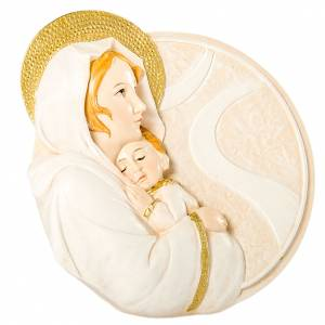 Round painting Maternity 7cm s1