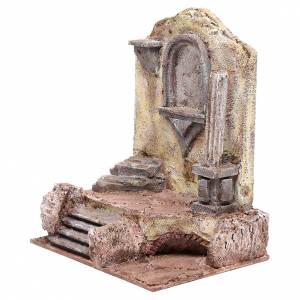 Rovine tempio con nicchia 30x25x20 cm s2