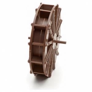 Pompe acqua presepe e motorini: Ruota per mulino ad acqua presepe fai da te