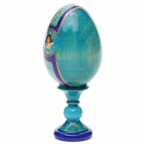 Russian Egg Guardian Angel Fabergè style 13cm s3