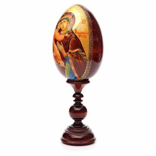 Russian Egg HAND PAINTED Vladimirskaya 36cm s2