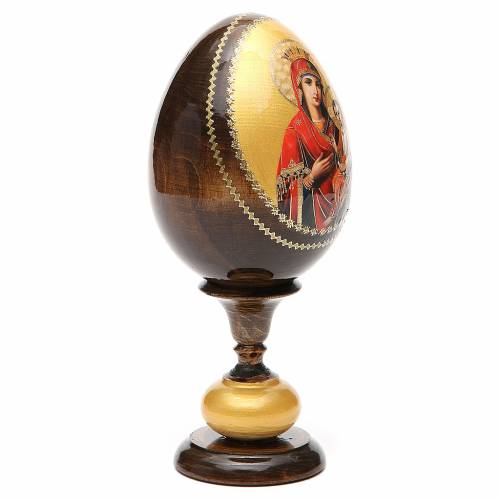 Russian Egg Idigitria Gorgoepikos découpage 20cm s4