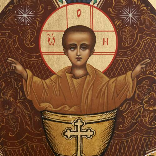 Russian icon, Inexhaustible Chalice 26x31 s3