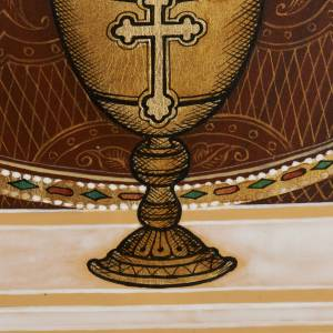 Russian icon, Inexhaustible Chalice 26x31 s5