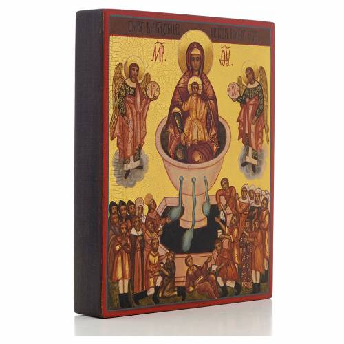 Russian icon, Our Lady Source of Life s2