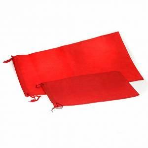 Calices Ciboires Patènes en métal: Sac pour calice  de couleur rouge