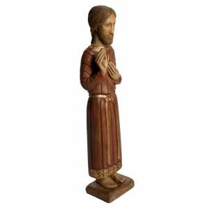 Sacro Cuore di Gesù gotico 58 cm legno Bethléem s2