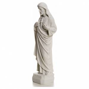 Sacro Cuore Gesù in polvere di marmo s3