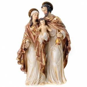 Sagrada familia dorada de 34 cm s1
