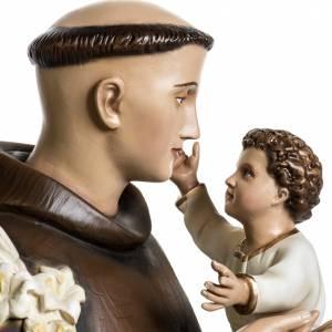 Saint Anthony of Padua, 100 cm painted fiberglass statue s4
