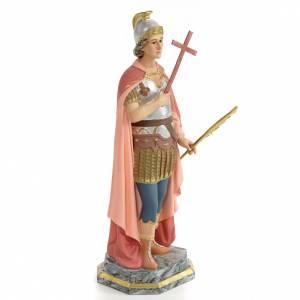 Saint Expedite of Melitene Statue in wood paste, 30 cm s4