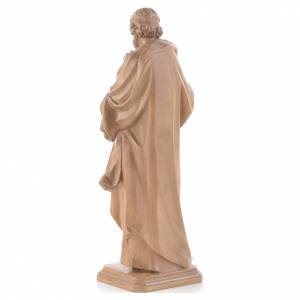Saint Joseph de Guido Reni bois patiné Valgardena s3