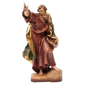 Hand painted wooden statues: Saint Matthew