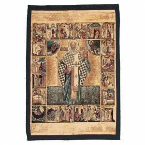 Tapestries: Saint Nicholas tapestry measuring 65x50cm