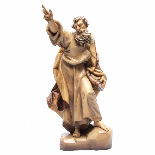 Saint Paul en bois nuances de marron s1