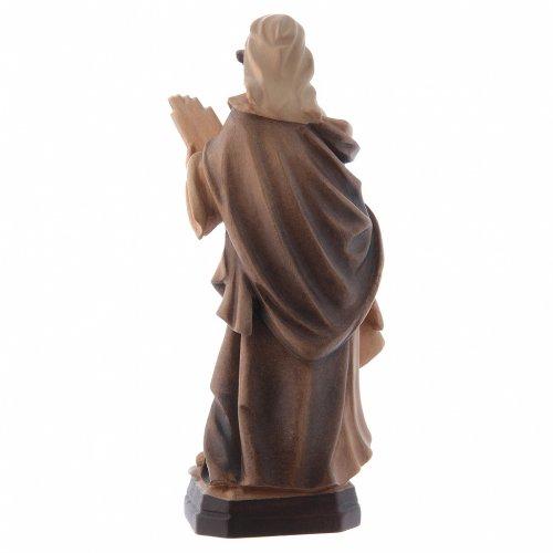 Sainte Cécile nuances de marron en bois s3