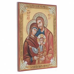 Sainte Famille gréque, décors en or s2