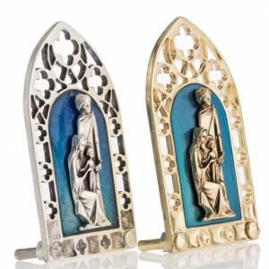 Sainte Famille petit carreau décoration gotique s2