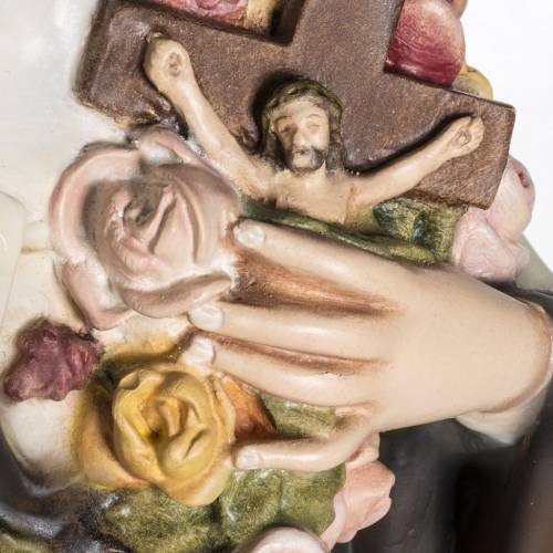 Sainte Thérèse de Lisieux 80 cm fibre de verre s4