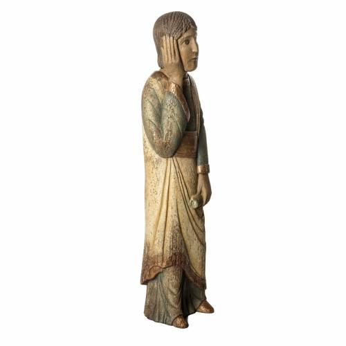 San Giovanni del calvario Batllo 78 cm legno finitura antica s2