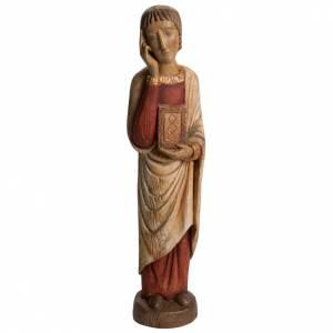 San Giovanni del Calvario Romano 49 cm legno finitura antico s1