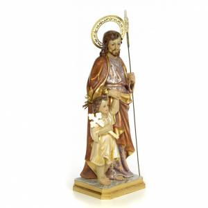 San Giuseppe 60 cm pasta di legno dec. extra s4
