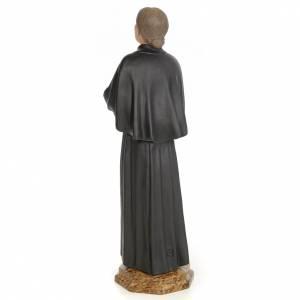 Santa Gemma Galgani 60 cm pasta di legno dec. elegante s3