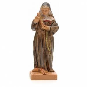 Santa Rita con Crucifijo 7 cm Fontanini s1