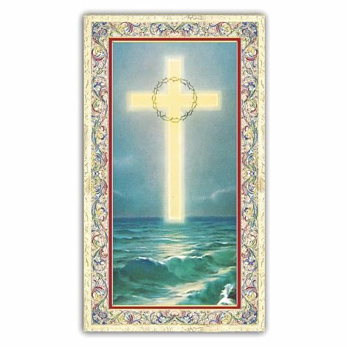 Santino  Croce sul Mare 10x5 cm ITA s1