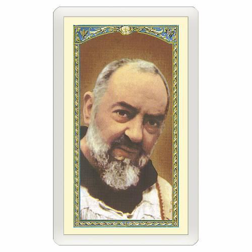 Santino Padre Pio Gesù è Tuo ITA 10x5 s1