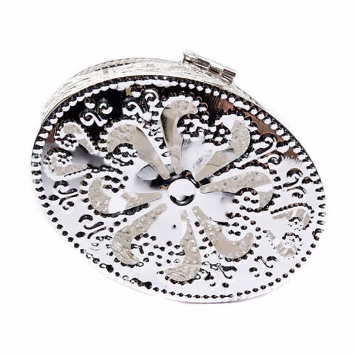 Scatola ovale filigrana  porcellana s2
