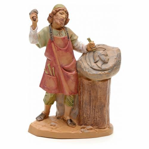 Sculpteur crèche Fontanini 12 cm s1